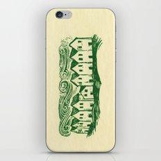 Sad Row iPhone & iPod Skin