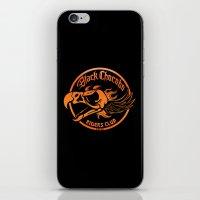 Black Chocobo Riders Club iPhone & iPod Skin