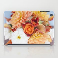 orange, yellow and white flowers  iPad Case