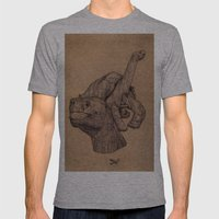 Lonely George  Mens Fitted Tee Athletic Grey SMALL