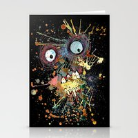 Shocked In Reverse Stationery Cards