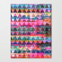 Kiana Triangle Canvas Print