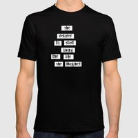 Her Life Mens Fitted Tee Black SMALL