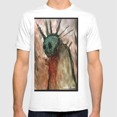 Wretched Zombie Filth White Mens Fitted Tee SMALL