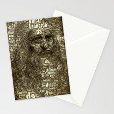 Leonardo da Vinci Stationery Cards