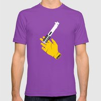Family Heirloom Mens Fitted Tee Ultraviolet SMALL