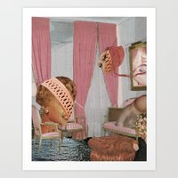 The Pink Room Art Print