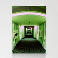 Green Corridor Stationery Cards