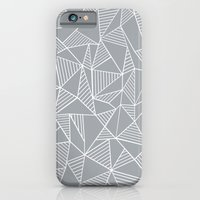 Abstraction Lines Grey iPhone 6 Slim Case