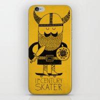 11th Century Skater iPhone & iPod Skin