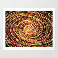 Red And Yellow Then Came… Art Print
