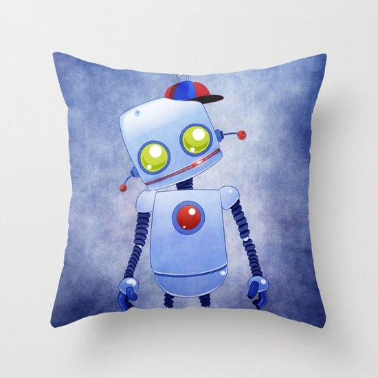 Bobby 5.0 Throw Pillow