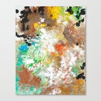 Elbow Falls  Canvas Print