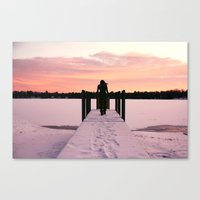 Throw Me Into The Lake.  Canvas Print