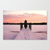Throw Me Into The Lake.  Canvas Print