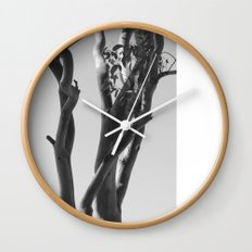 Now You See The Tree Wall Clock