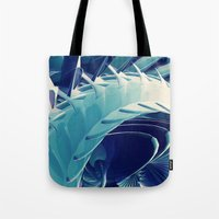 Tote Bag featuring Space Abstract  by Msimioni