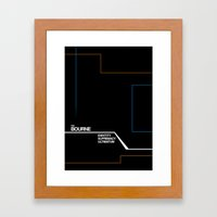 Bourne Framed Art Print
