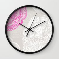 Doodle Doiley Wall Clock