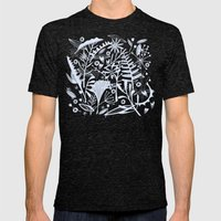 Abundance Mens Fitted Tee Tri-Black SMALL