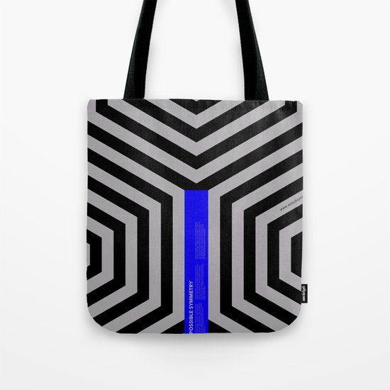 Impossible Symmetry - Cebra Tote Bag
