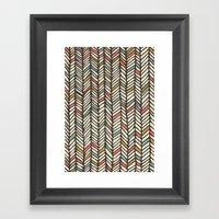 Autumn Threads Framed Art Print