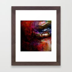 Nothing To Say (With Ganech Joe) Framed Art Print