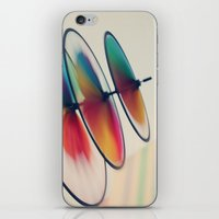 Spin, Spin, Spin iPhone & iPod Skin