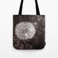 Big Bang (Cosmic Dandelion) Digital Photo Composition Tote Bag