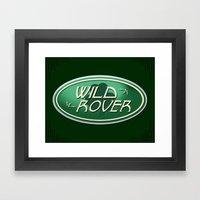 Wild Rover Framed Art Print
