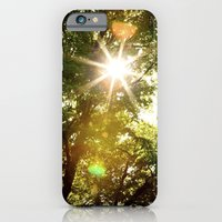 iPhone & iPod Case featuring The Sun's Rays by Dan Svoboda