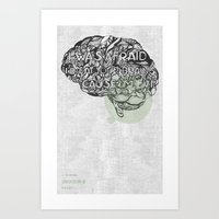 The National- Conversati… Art Print
