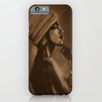 iPhone & iPod Case featuring Afro Beauty by Luis Dourado