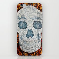 Galvanized Skull iPhone & iPod Skin