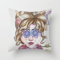 vicorian Throw Pillow