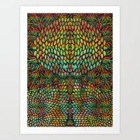 Tree Of Life - The Sacre… Art Print