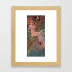 Afterglow Framed Art Print