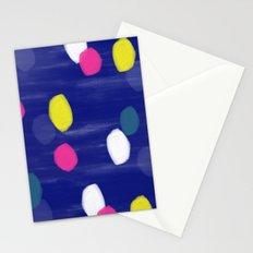 Spotty Blue Stationery Cards