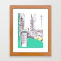 Lovely London Framed Art Print