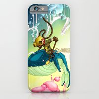 iPhone & iPod Case featuring Whale Rider (#282 from MASK365) by Freehand profit