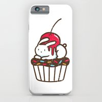 Chubby Bunny on a cupcake iPhone 6 Slim Case