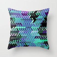 Electro Ex Throw Pillow