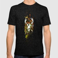 Nature Thrives Mens Fitted Tee Tri-Black SMALL