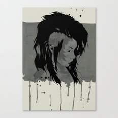 Punk is Dead Canvas Print