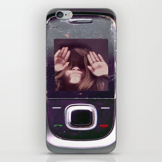 Help! get me out of here..........V3 iPhone & iPod Skin