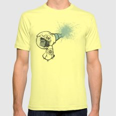 able.baker.perfect. Mens Fitted Tee Lemon SMALL