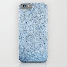 Cracks In Blue iPhone 6 Slim Case