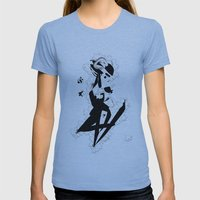 When you finally get them all - Emilie Record Womens Fitted Tee Athletic Blue SMALL