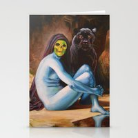 Seated Sorcerer Stationery Cards