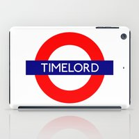 Timelord iPad Case